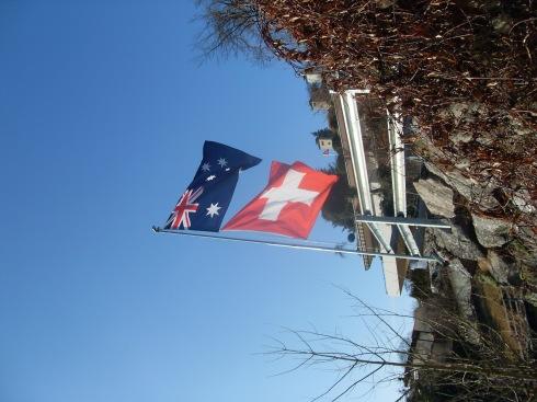 Swiss/Aussie pride
