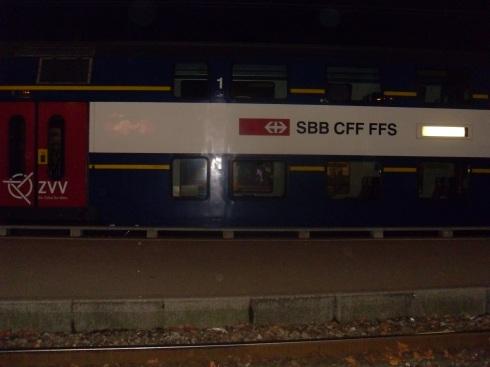 Double decker trains rule