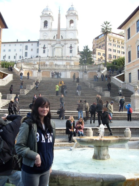 Piazza di Spagna/The Spanish Steps
