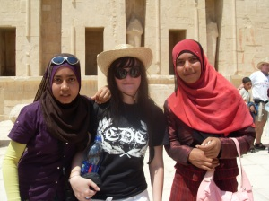 Egyptian girls were siked to see me