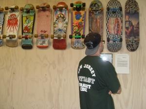 Skateboarding exhibition with Richard