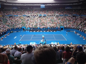 Finally went to the Australian Open! 17 Jan 2013