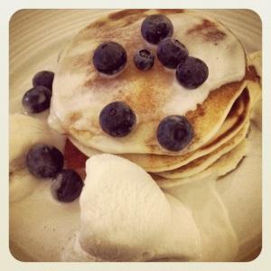 Vegan pancakes for pancake Tuesday!