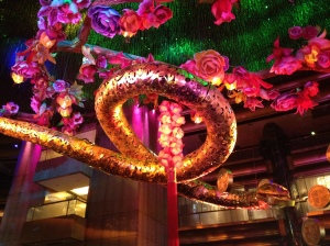 Year of the snake, Crown Casino.