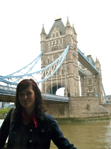 Flashback. Living in London 2008.