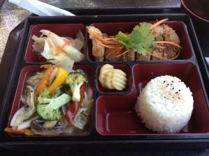 Vegan Bento Box.