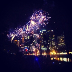 Moomba Festival Fireworks.