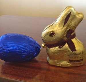 Easter 2013. 'Moo Free' egg ruled.