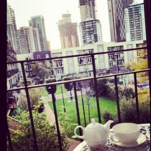 Tea on my Balcony <3