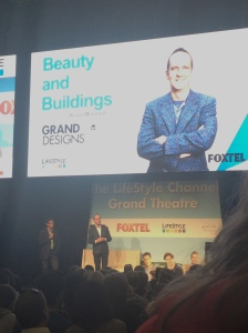 Keven McCloud at Grand Designs Live.