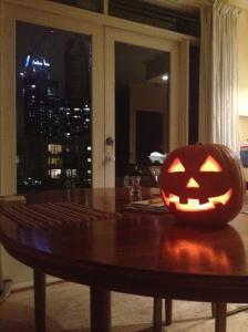 Halloween 2013. My first jack o' lantern.