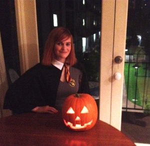 Any excuse to dress up as a Hogwarts student.