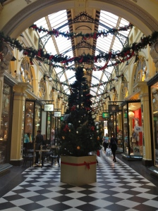 Melbourne getting into the Christmas Spirit.