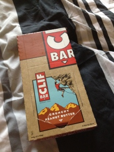 So excited to see Clif protein bars in Australia!