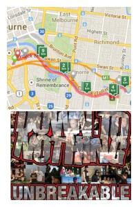 Running Melbourne.