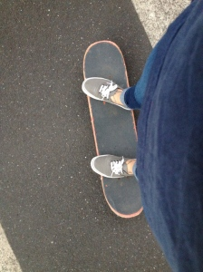 Back on my board.