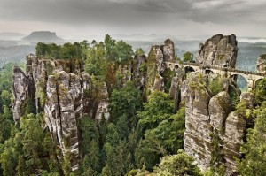 Saxon Switzerland National Park, Germany.