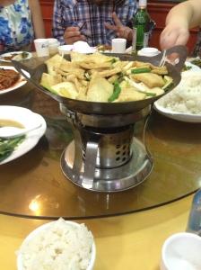Tofu dish.