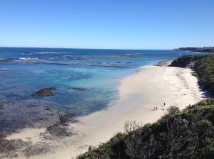Flinders Beach, so beautiful here.