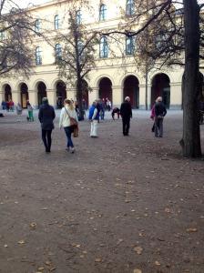 People playing Botchi.