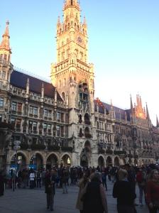 New City Hall, Munich.