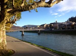 Salzach River.