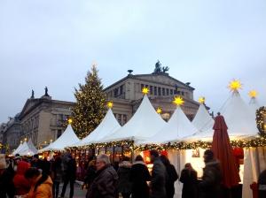 Weihnactszauber Gendarmenmarkt.
