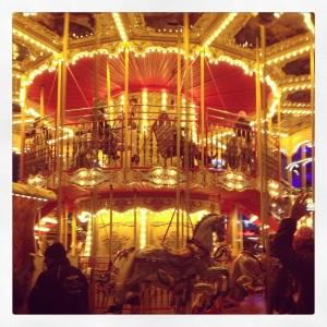 Carousel at Alexanderplatz.