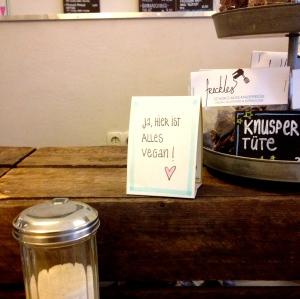 Freckles, Vegan Cafe.