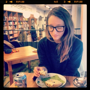 Bagels and Books with Alix at Shakespeare and Sons.