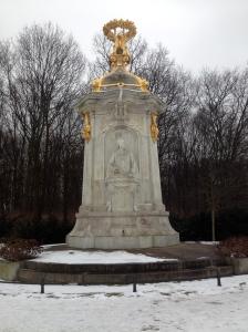 Das Beethoven-Haydn-Mozart-Denkmal.