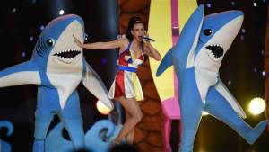 Dancing Sharks at the Superbowl!
