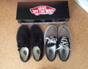 Out with the old, in with the new. Vans Forever.