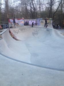 Connie Island skatepark.