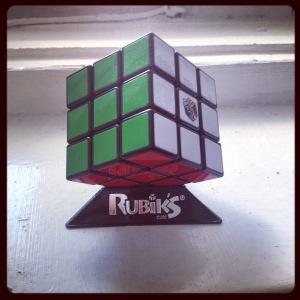 Really into my Rubik's Cube lately.