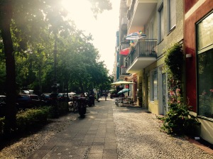 The streets of Kreuzberg.