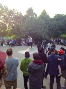 Small local skate comp.