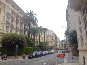 The streets of Nice.