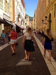 Old Town strolls with Jill, Anita and Lizzy :)