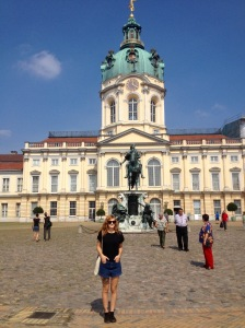 Me at Charlottenburg Palace, Berlin.