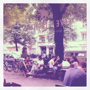 Five Elephants Coffee, Kreuzberg Berlin.