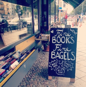 Books and Bagels at Shakespeare and Sons