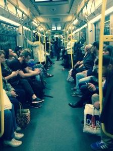 U Bahn Life.