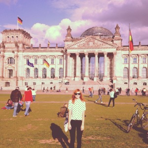 The Reichstag.