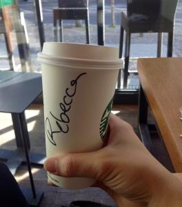 Rebecca is my fake name haha.