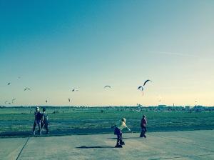 Perfekt day at Tempelhofer Feld.