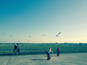 Perfekt day at Tempelhofer Feld.