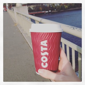 I missed you Costa Coffee.