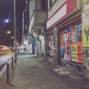 Warschauer Straße.