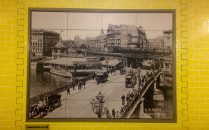 Jannowitzbrücke um 1895.